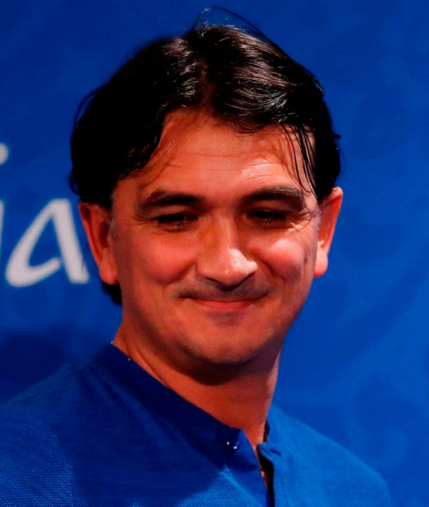 Croatia coach Zlatko Dalic. Photo: Reuters