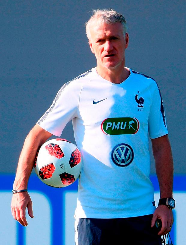 France coach Didier Deschamps. Photo: Laurence Griffiths/Getty Images