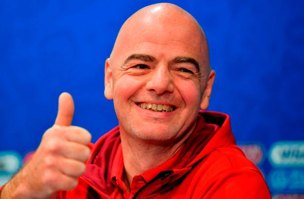 FIFA President Gianni Infantino. Photo: Dan Mullan/Getty Images