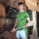 Limerick young gun Kyle Hayes, a Bord Gáis Enegry ambassador, at the launch of Bord Gáis Energy's #HurlingToTheCore campaign at Mitchelstown Caves Photo: Eóin Noonan/Sportsfile
