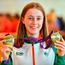 Sarah Healy: Double gold Photo: Piaras Ó Mídheach/Sportsfile