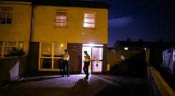 Scene of the death in Rowlagh Green ,Ronanstown
