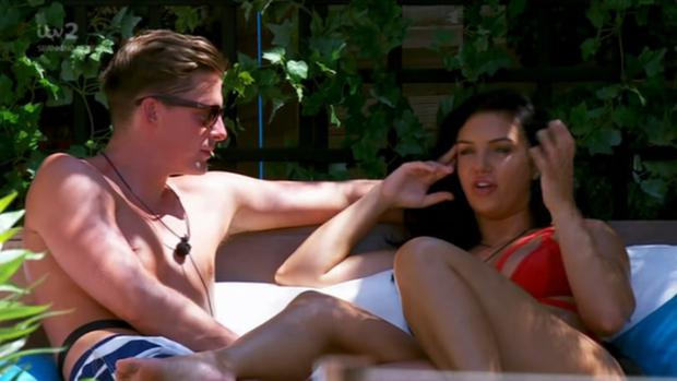 Alexandra chose Dr Alex in Friday night's Love Island recoupling. PIC: ITV