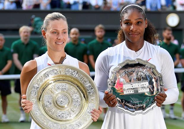 Twitter reacts to Angelique Kerber defeating Serena Williams to win Wimbledon