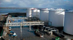 Fuel tanks where oil reserves can be stored