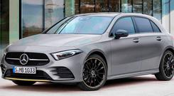 HIT AND MISS: The A-Class has a high level of safety equipment, but is a long way from giving a comfortable ride