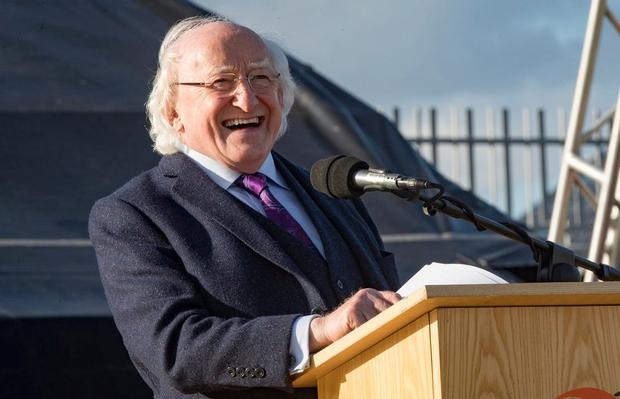 President Michael D Higgins. Photo: Arthur Carron