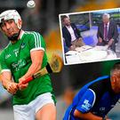 Michael Lyster ended up with Pat Spillane's jacket during Limerick's win over Kilkenny