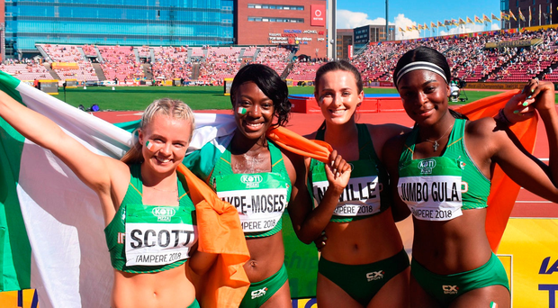 Silver success the first step for sprinting stars