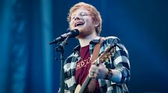 Ed Sheeran blasted reports of 'anti-homeless' railings outside his house. Photo: Arthur Carron