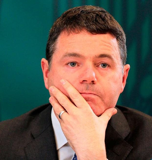 Called to act: Finance Minister Paschal Donohoe. Photo: Gerry Mooney