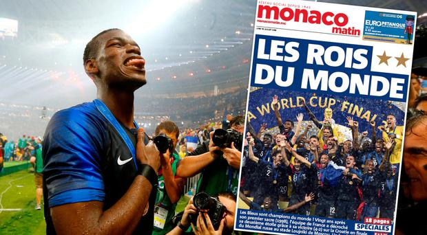 'Kings of the world': How the French and Croatian media reacted to the dramatic World Cup final in Moscow