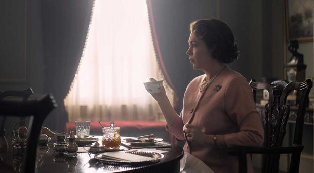 First-look image released of Olivia Colman as the Queen in The Crown