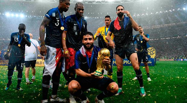 Liverpool linked with three World Cup stars including a French winner