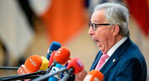 President of the European Commission Jean-Claude Juncker Picture: John Thys/AFP/Getty