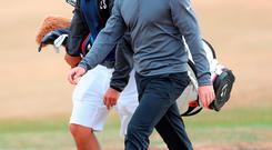 Rory McIlroy in Carnoustie