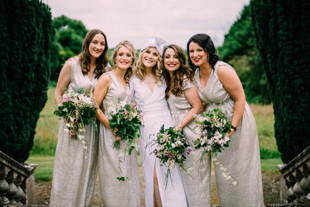 a55363a7be4 Co-founder of ecolux label We are Islanders Deirdre wore a stunning design  by Rosie O Reilly for her wedding to Pat McIntyre at the atmospheric  Gloster ...
