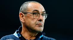 Former Napoli boss Maurizio Sarri is set to be unveiled as Chelsea's new manager today at Stamford Bridge. Photo: PA