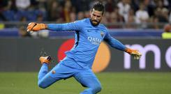 Liverpool have moved to solve their goalkeeper problem by making a world-record £62 million bid for Roma's Alisson