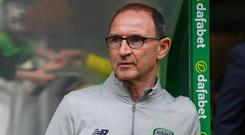 In an exclusive interview with today's Irish Independent, O'Neill said that the performances of Ireland's U-17 team at the European Championships in May had given him hope for the future. Photo: Stephen McCarthy/Sportsfile