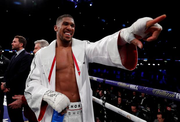 'I want to cement my legacy': Joshua plans history bid