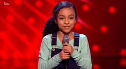 Savannah impressed the coaches with her rendition of Don't You Worry Bout a Thing on The Voice Kids UK, ITV/TV3