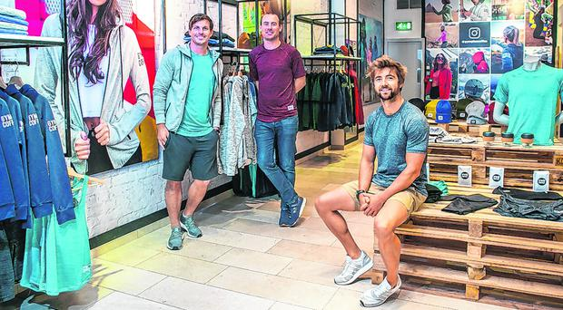 Swapping tech for sports fashion is perfect fit for Irish trio