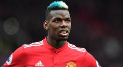 Paul Pogba had a mixed 2017/18 season at Manchester United (Anthony Devlin/PA)