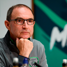 1 June 2018; Republic of Ireland manager Martin O'Neill during a press conference at the FAI National Training Centre in Abbotstown, Dublin. Photo by Stephen McCarthy/Sportsfile