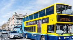 One in 10 bus services in Dublin will no longer travel directly into the city centre from the suburbs
