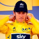 Team Sky rider Geraint Thomas. Photo: Stephane Mahe/Reuters