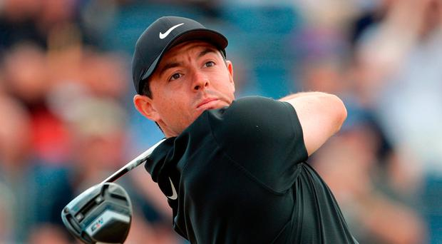 The Open Championship LIVE: Rory McIlroy shoots opening 69, Tiger Woods and Padraig Harrington still out on the course