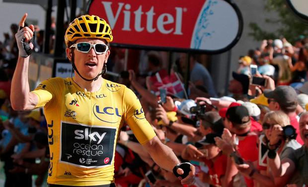 Thomas takes stage 11 win and yellow jersey in Tour de France