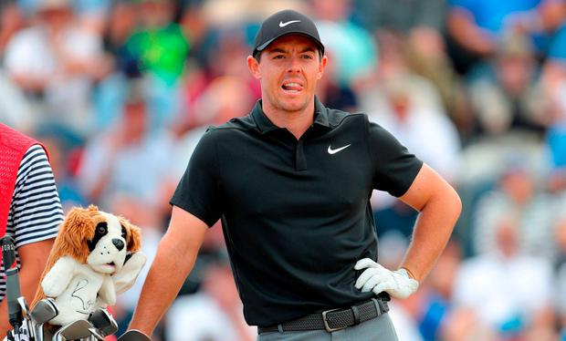 Northern Ireland's Rory McIlroy during day one of The Open Championship