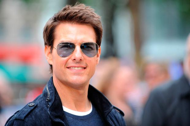 Tom Cruise at the European premiere of 'Rock Of Ages' in Leicester Square, London.