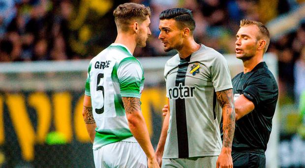 Shamrock Rovers come agonisingly close to shock Stockholm win but European campaign ends after extra time