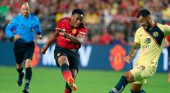 Manchester United forward Anthony Martial