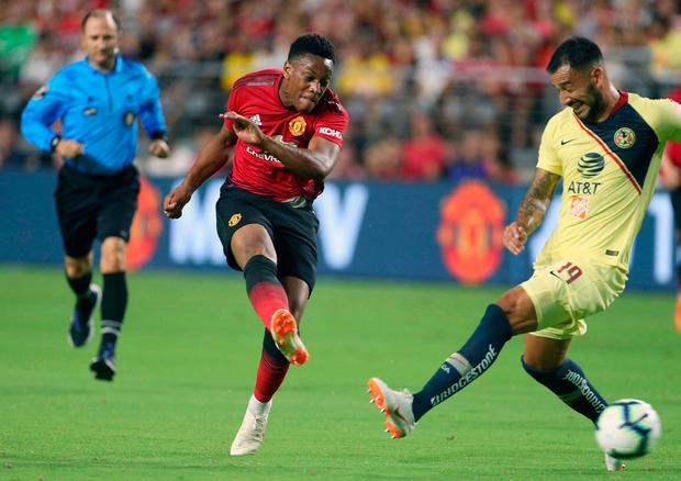 Anthony Martial leaves Manchester United tour for birth of second child