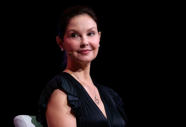Ashley Judd looks on during the 29th annual Conference of the Professional Businesswomen of California (PBWC) on April 24, 2018 in San Francisco, California. The PBWC is a day of keynote speakers and seminars by top female leaders and panels of industry experts. (Photo by Justin Sullivan/Getty Images)