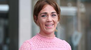 Sophia Murphy leaves the Central Criminal Court in Dublin after her father John Murphy was sentenced to 18 years in prison for regularly sexually assaulting her Pic Collins Courts.