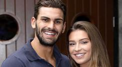 Adam Collard and Zara McDermott in Dublin for the launch of Love Island Australia - airing on 3e from Monday 23rd at 10.05pm