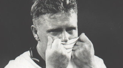 Paul Gascoigne's tears captured the hearts of the English nation after he received a yellow card in the World Cup 90 semi-final that would have ruled him out of the final had England beaten West Germany