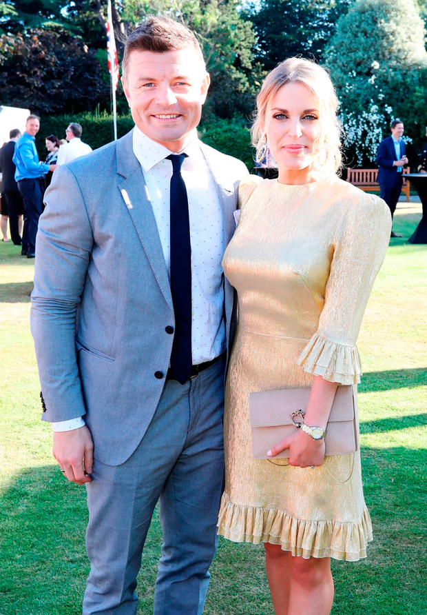 Brian O'Driscoll and wife Amy Huberman saw profits grow