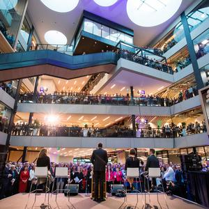Main image: Taoiseach Leo Varadkar opens Microsoft's new €134m campus, at One Microsoft Place in Dublin last February. Picture: Naoise Culhane
