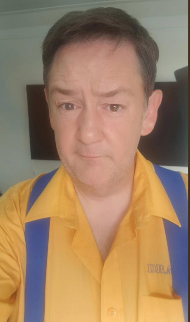 Johnny Vegas after his dramatic weight loss. Picture: Twitter