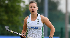 Megan Frazer was a teen star at cricket and soccer but admits to preferring hockey because it challenged her more