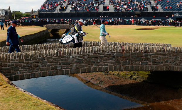 British Open: Woods creates buzz at Carnoustie with 66