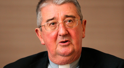 WOUNDS: Archbishop Diarmuid Martin. Photo: Frank McGrath