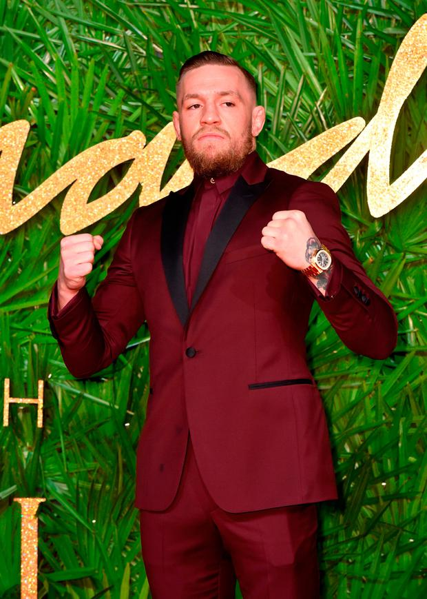 ACCUSED: Conor McGregor facing charges of assault. Picture: PA
