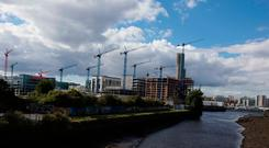 GOING UP: More commercial property is now being built in Ireland than at the height of the economic boom